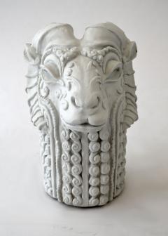 Stylized Rams Head Figural - 683575