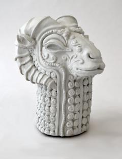 Stylized Rams Head Figural - 683576