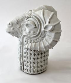 Stylized Rams Head Figural - 683577