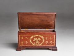 Sulphur Inlaid Miniature Chest - 1562464