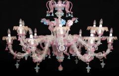 Sumptuous Murano Glass Chandelier 1990s - 1910286