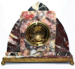 Superb Art Deco French Marble clock 1930s - 1105917