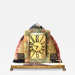 Superb Art Deco French Marble clock 1930s - 1106980