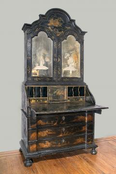 Superb Venetian Chinoiserie Drop Front Cabinet - 270983