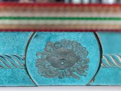 Superb Venetian Multicolor Murano Glass Mirror - 2057467