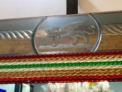 Superb Venetian Multicolor Murano Glass Mirror - 2057470