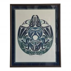 Susan A Point Large Framed First Nations Print by Susan A Point - 1079091