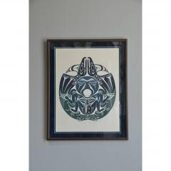 Susan A Point Large Framed First Nations Print by Susan A Point - 1079092