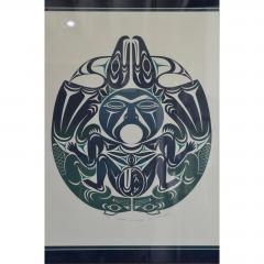 Susan A Point Large Framed First Nations Print by Susan A Point - 1079093