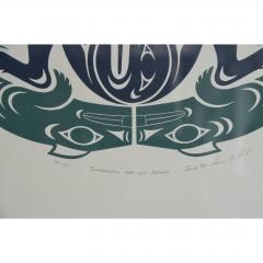 Susan A Point Large Framed First Nations Print by Susan A Point - 1079094