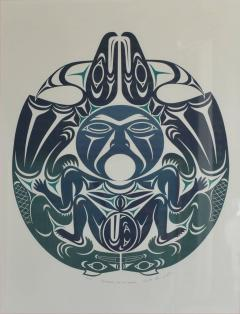 Susan A Point Large Framed First Nations Print by Susan A Point - 1079178
