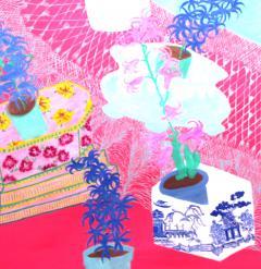 Susan Bleakley Garden of Earthly Hyacinths - 1977456