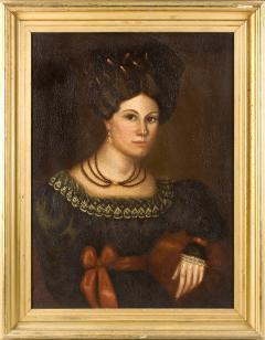 Susannah Paine American Folk Portrait by Susannah Paine - 1224845