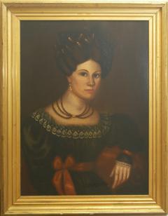 Susannah Paine American Folk Portrait by Susannah Paine - 1224846