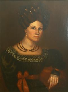 Susannah Paine American Folk Portrait by Susannah Paine - 1224847