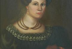Susannah Paine American Folk Portrait by Susannah Paine - 1224849