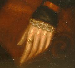 Susannah Paine American Folk Portrait by Susannah Paine - 1224851