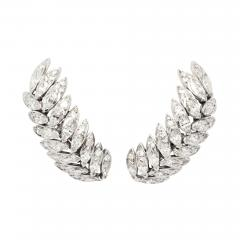 Suzanne Belperron Diamond Earrings by Suzanne Belperron - 1370188