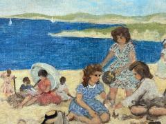 Suzanne Demarest Sur la Plage  - 2089772