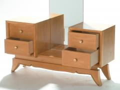 Suzanne Guiguichon French Suzanne Guiguichon sycamore vanity dressing table 1950s - 989333