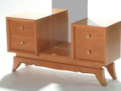 Suzanne Guiguichon French Suzanne Guiguichon sycamore vanity dressing table 1950s - 989334
