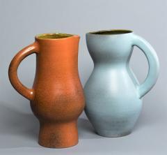 Suzanne Rami Two Ceramic Jug Vases - 573966