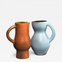 Suzanne Rami Two Ceramic Jug Vases - 575134