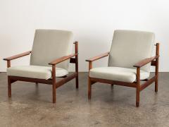 Sven Ivar Dysthe Pair of Rosewood Modern Lounge Chairs - 1298000