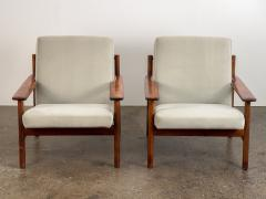 Sven Ivar Dysthe Pair of Rosewood Modern Lounge Chairs - 1298013
