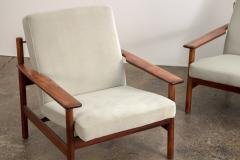 Sven Ivar Dysthe Pair of Rosewood Modern Lounge Chairs - 1298014