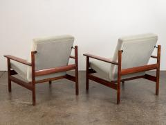 Sven Ivar Dysthe Pair of Rosewood Modern Lounge Chairs - 1298015