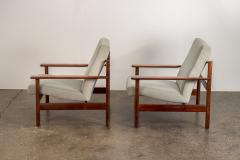 Sven Ivar Dysthe Pair of Rosewood Modern Lounge Chairs - 1298016