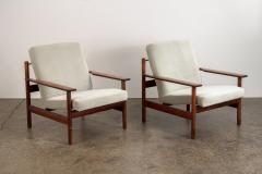 Sven Ivar Dysthe Pair of Rosewood Modern Lounge Chairs - 1298017