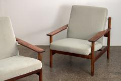Sven Ivar Dysthe Pair of Rosewood Modern Lounge Chairs - 1298025