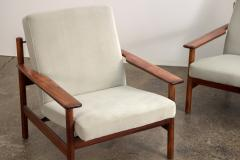 Sven Ivar Dysthe Pair of Rosewood Modern Lounge Chairs - 1298026