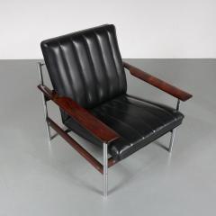 Sven Ivar Dysthe Sven Ivar Dysthe 1001 AF Original Lounge Chair for Dokka M bler Norway 1959 - 967278
