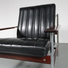 Sven Ivar Dysthe Sven Ivar Dysthe 1001 AF Original Lounge Chair for Dokka M bler Norway 1959 - 967283
