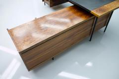 Sven Ivar Dysthe Sven Ivar Dysthe Writing Desk with Sideboard by Dokka Norway 1960s - 1308171