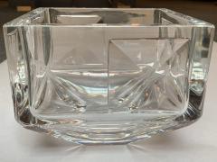 Sven Palmqvist Sven Palmqvist Glass Bowl By Orrefors Sweden 1960s - 2062311