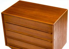 Svend A Madsen Svend Aage Madsen Small Teak Chest of Drawers 1960s - 407756