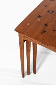 Svend Aage Madsen Nesting Tables Produced by Sigurd Hansen M belfabrik - 1873854