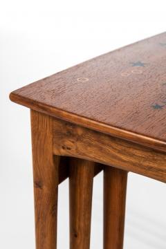 Svend Aage Madsen Nesting Tables Produced by Sigurd Hansen M belfabrik - 1873855