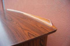 Svend Aage Madsen Rosewood Desk Model SH 180 by Svend Aage Madsen for Sigurd Hansen - 559045