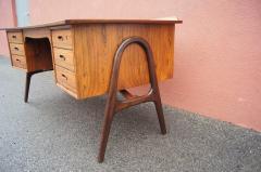 Svend Aage Madsen Rosewood Desk Model SH 180 by Svend Aage Madsen for Sigurd Hansen - 559047