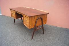 Svend Aage Madsen Rosewood Desk Model SH 180 by Svend Aage Madsen for Sigurd Hansen - 559058