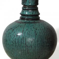 Svend Hammersh i Hammershoj Table lamp with long neck in teal black by Svend Hammersh i - 1047575