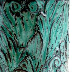 Svend Hammershoj Vase with Energetic Acanthus Leaves in Relief by Svend Hammershoi - 793148