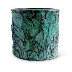 Svend Hammershoj Vase with Energetic Acanthus Leaves in Relief by Svend Hammershoi - 793150