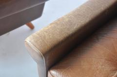 Svend Skipper Pair of Svend Skipper Leather Lounge Chairs - 394221
