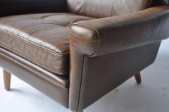 Svend Skipper Pair of Svend Skipper Leather Lounge Chairs - 394227